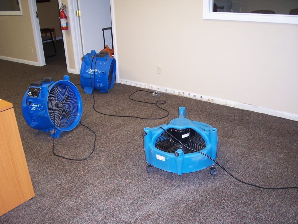 Floor Drying